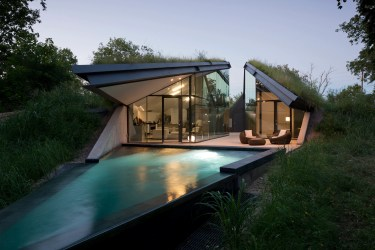 Modern Homes in Nature Architectural Digest