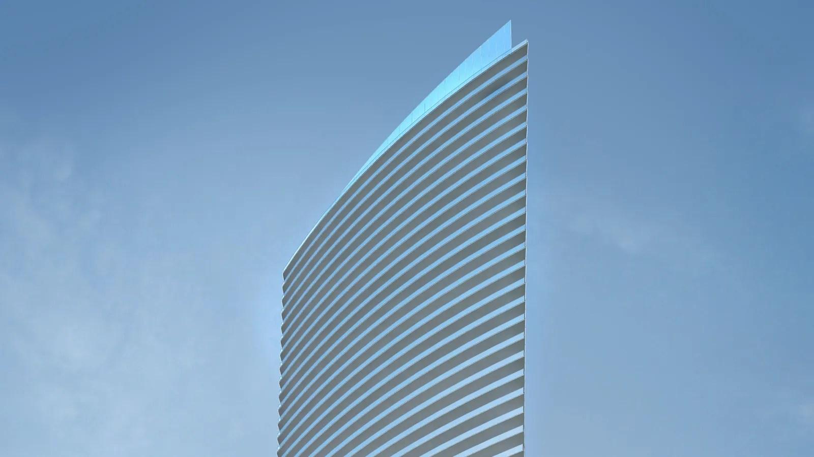 Cesar Pelli S New Armani Casa Tower Architectural Digest
