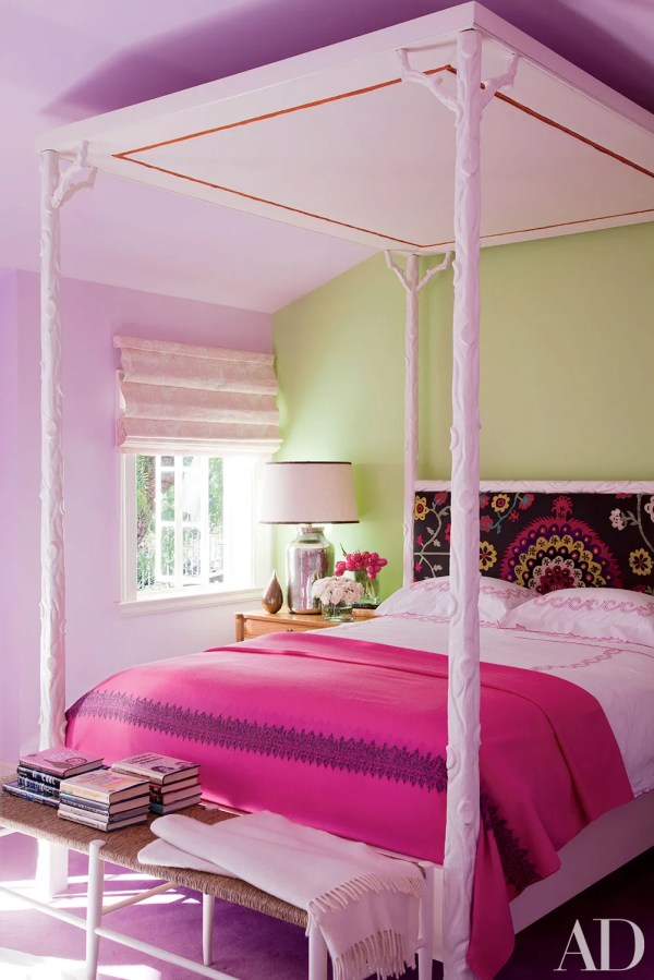 Pink Room Decoration Inspiration Architectural Digest