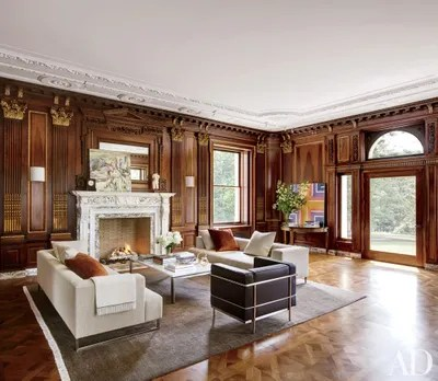 design living room with fireplace and tv best interior for ideas designs architectural digest the is centerpiece of grand in a new jersey estate renovated by architect annabelle selldorf designer matthew frederick
