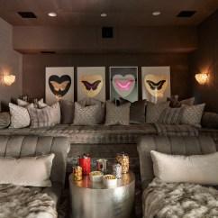 Luxury Sofa Throw Pillows Mart Harker Heights Texas Khloé And Kourtney Kardashian Realize Their Dream Houses ...