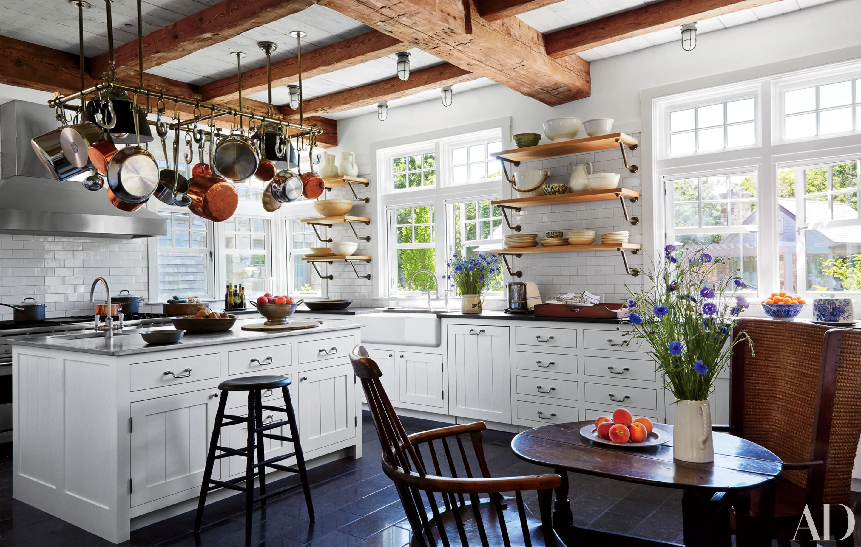 kitchen picture wall rack white cabinets ideas and inspiration architectural digest