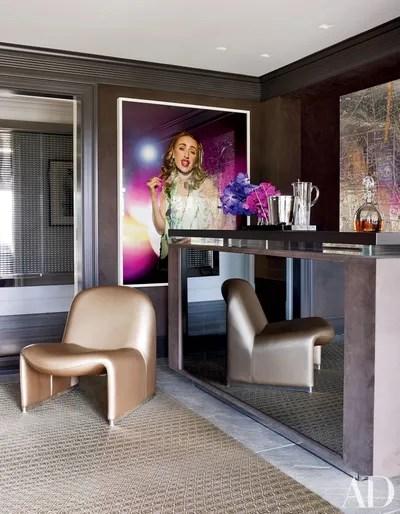 Furniture Design Corner Showcase
