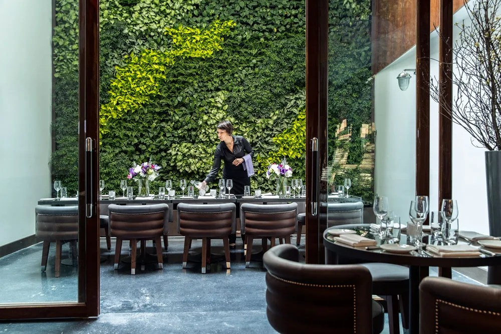 Private Dining NYC at Cipriani Wall Street NoMad Hotel La Chine Photos  Architectural Digest