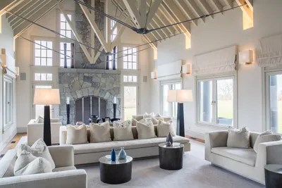 cape cod style house living room corner furniture a on 29 beautiful acres is the market for vaulted ceiling with exposed beams defines great