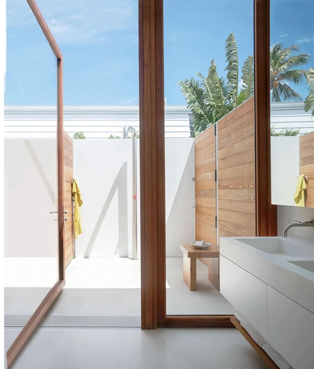 Idea Outdoor Shower