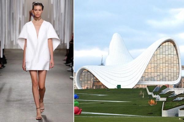 Fashion Designers Inspired Architecture Rosie Assoulin