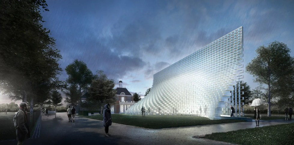 BIG Unveils Its Design for the 2016 Serpentine Gallery ...