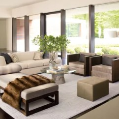 Living Room Ottoman Ideas Pictures For The Walls How To Incorporate Ottomans Into Your Decor In Area Of A New Canaan Connecticut Home By Carrier Co Warren