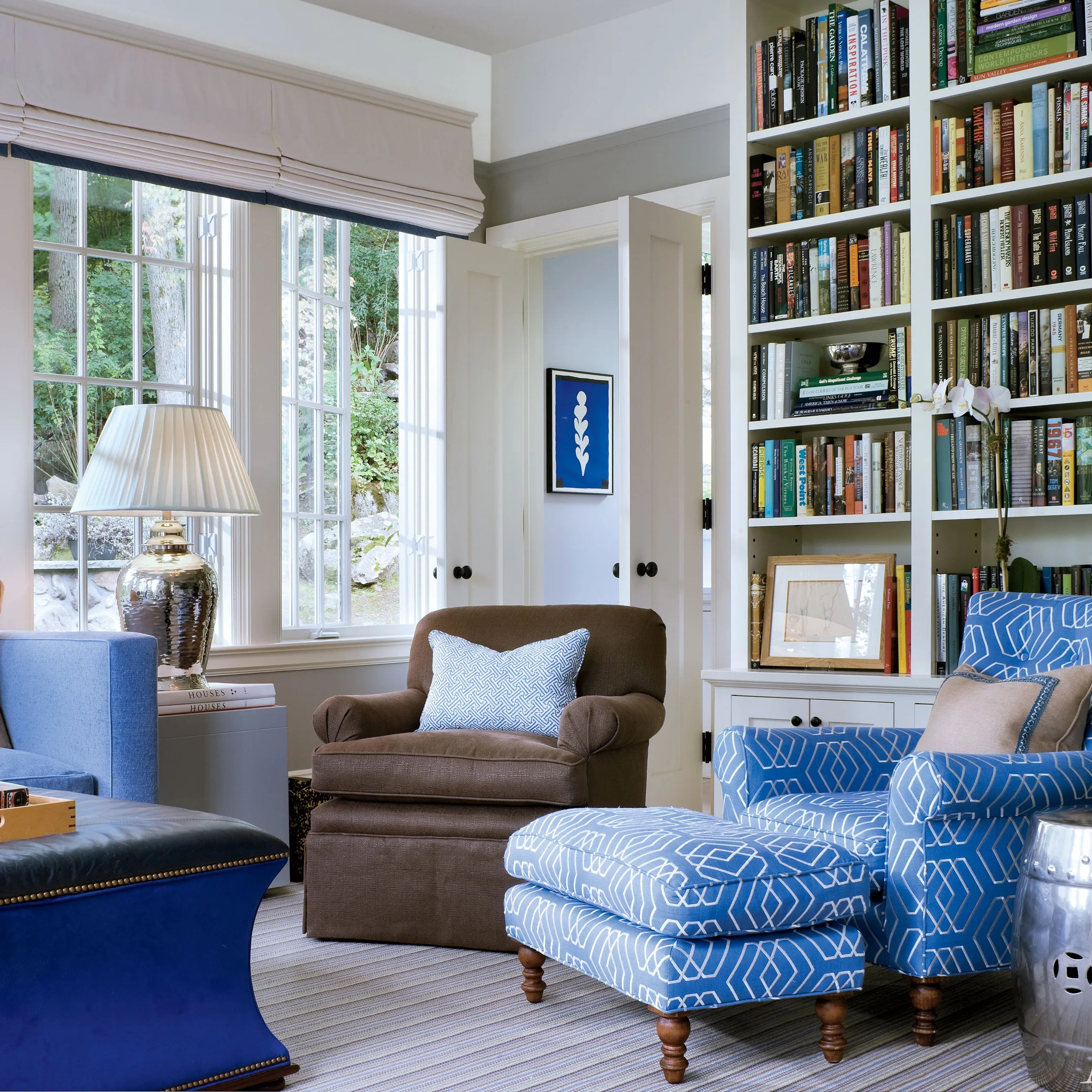unique colors for living rooms decorating ideas room shelves 13 that utilize cool beautifully architectural digest