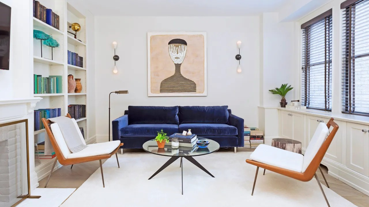 designing small apartment living rooms traditional room sets design ideas architectural digest jeremy globersons new york city space by ashley darryl