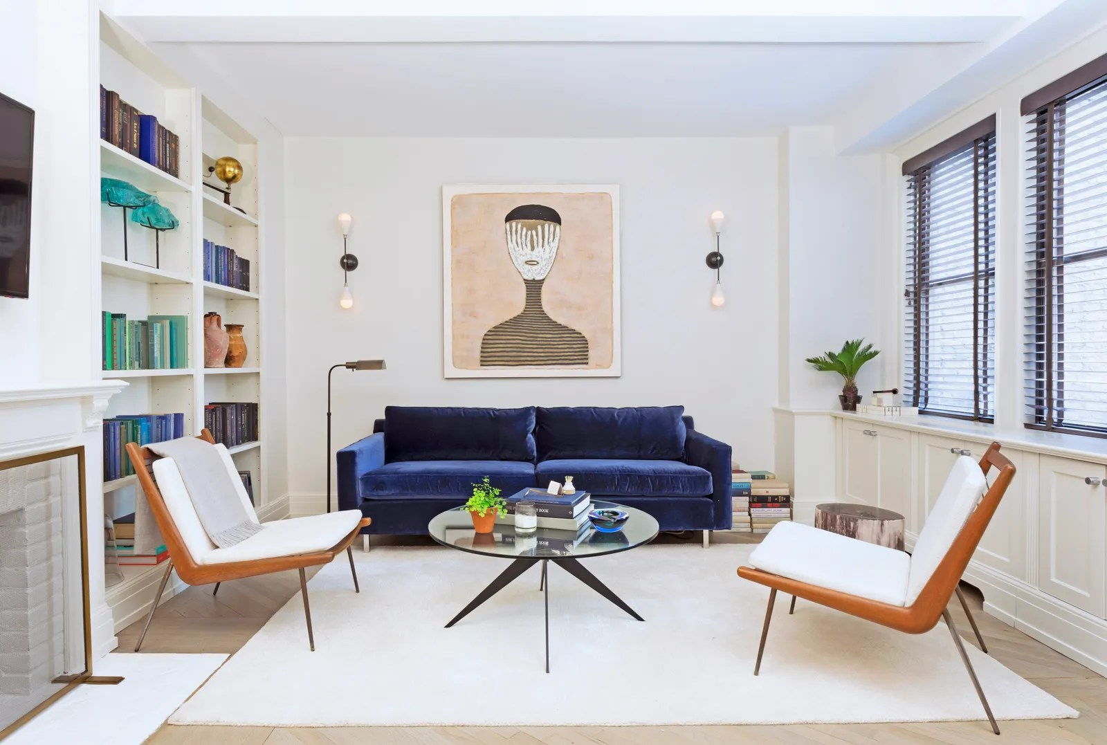 framed wall pictures for living room ireland pendant lighting 11 decor ideas small homes and apartments architectural jeremy globersons new york city apartment space by ashley darryl