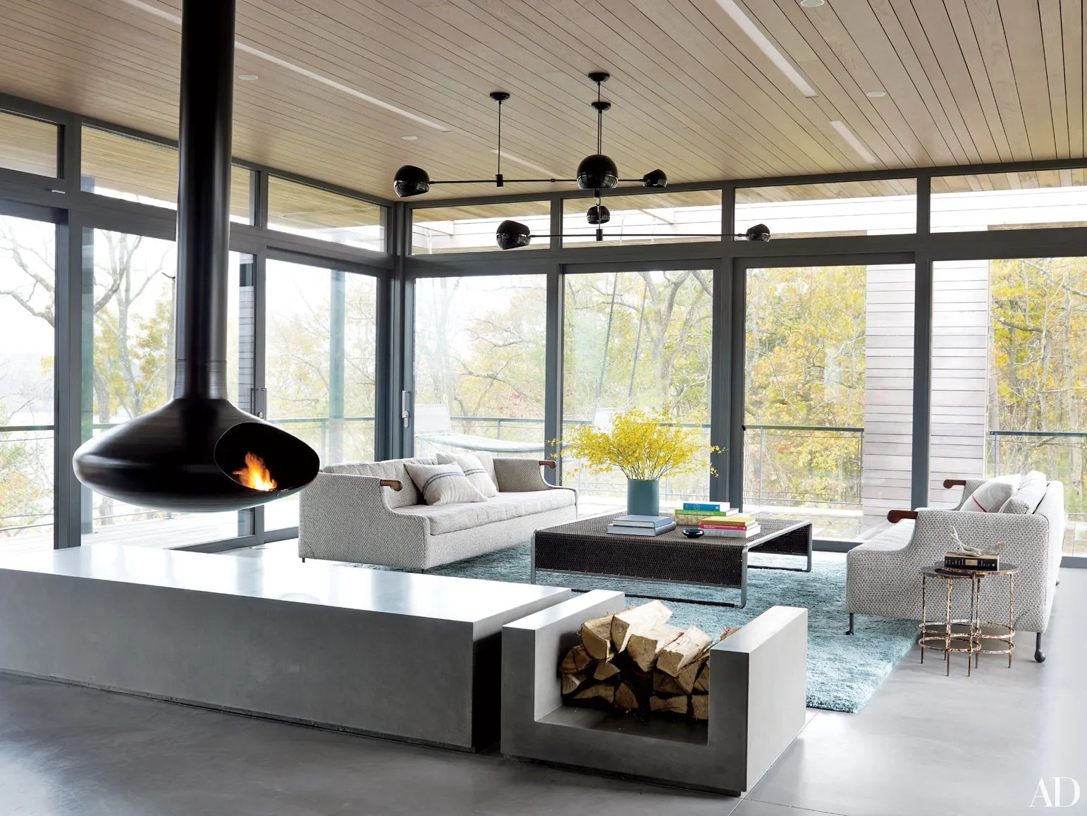 23 Distinctive Fireplace Designs Photos  Architectural Digest