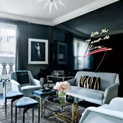 Art Deco Living Room Pictures Great Paint Colors For How To Add Style Any Architectural Digest An Decostyle Rockcrystal Chandelier By Alexandre Vossion Crowns The Smoking Of A Manhattan Townhouse
