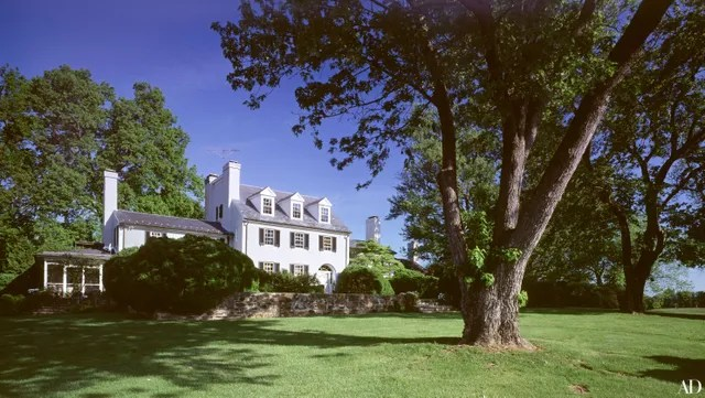 Robert Duvalls Virginia Home Photos Architectural Digest