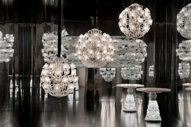 Four New Out Of This World Baccarat Chandeliers