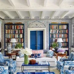 Wallpaper Living Room Wall Cabinets With Glass Doors 33 Ideas For Every Architectural Digest