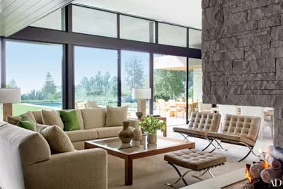interior design ideas for living rooms modern room designs indian style 18 stylish homes with architectural digest in a beverly hills house devised by architecture firm marmol radziner boehm assoc the great is furnished