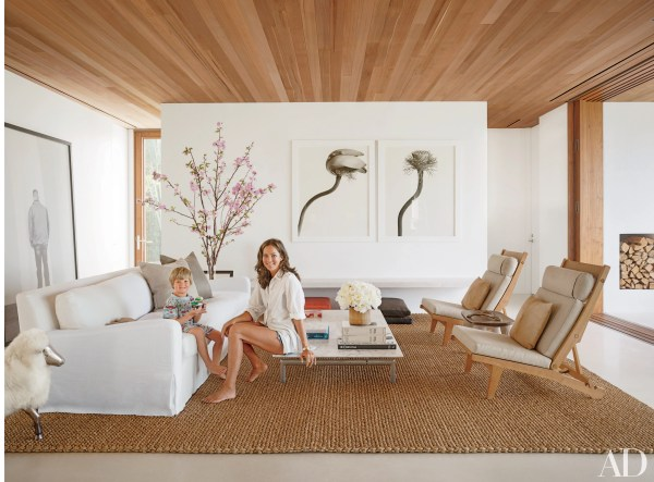Architectural Digest Living Rooms Beach
