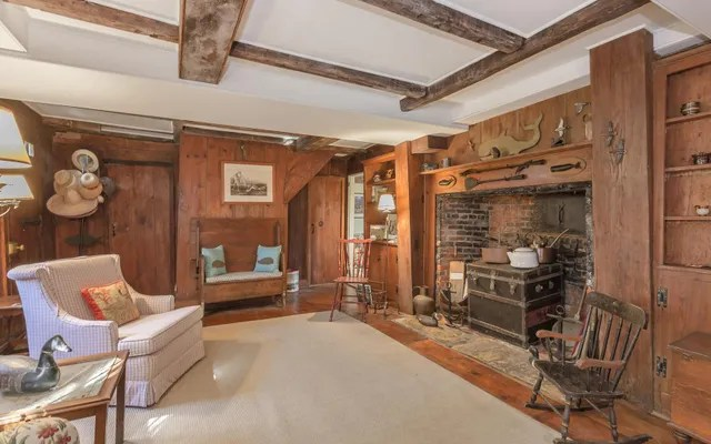 This 8 Million Saltbox House Is One of the Oldest in