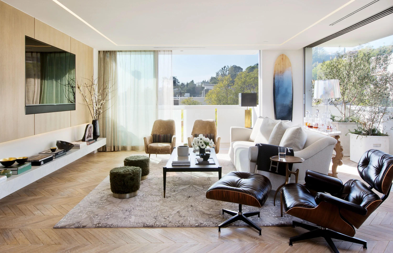 House Tour Celebrity Designer Adam Hunters Los Angeles
