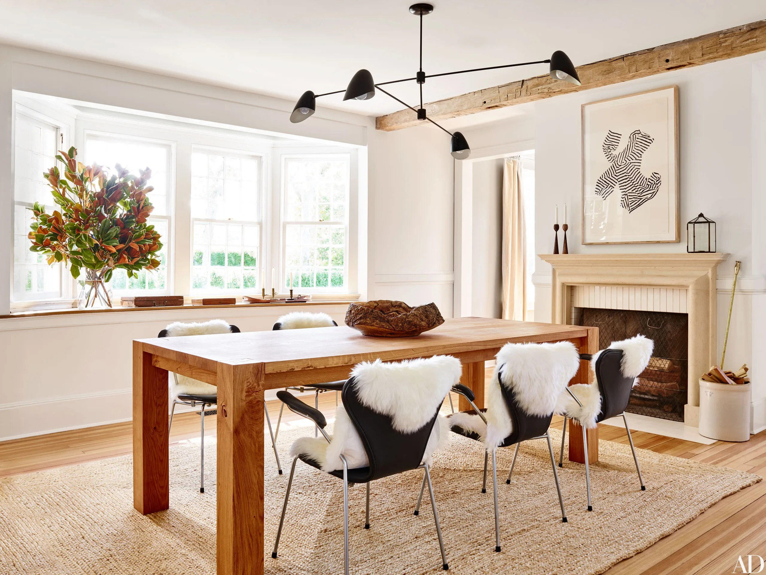 new style living room furniture round accent tables for 36 of the best dining rooms 2016 architectural digest