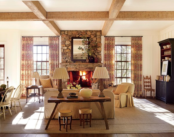 Inviting Rooms Epitomize Traditional Design