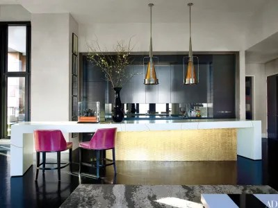 kitchen ideas with island hood fan 28 stunning architectural digest the centerpiece of designer jamie drakes new york is a custommade comprising cabinetry finished