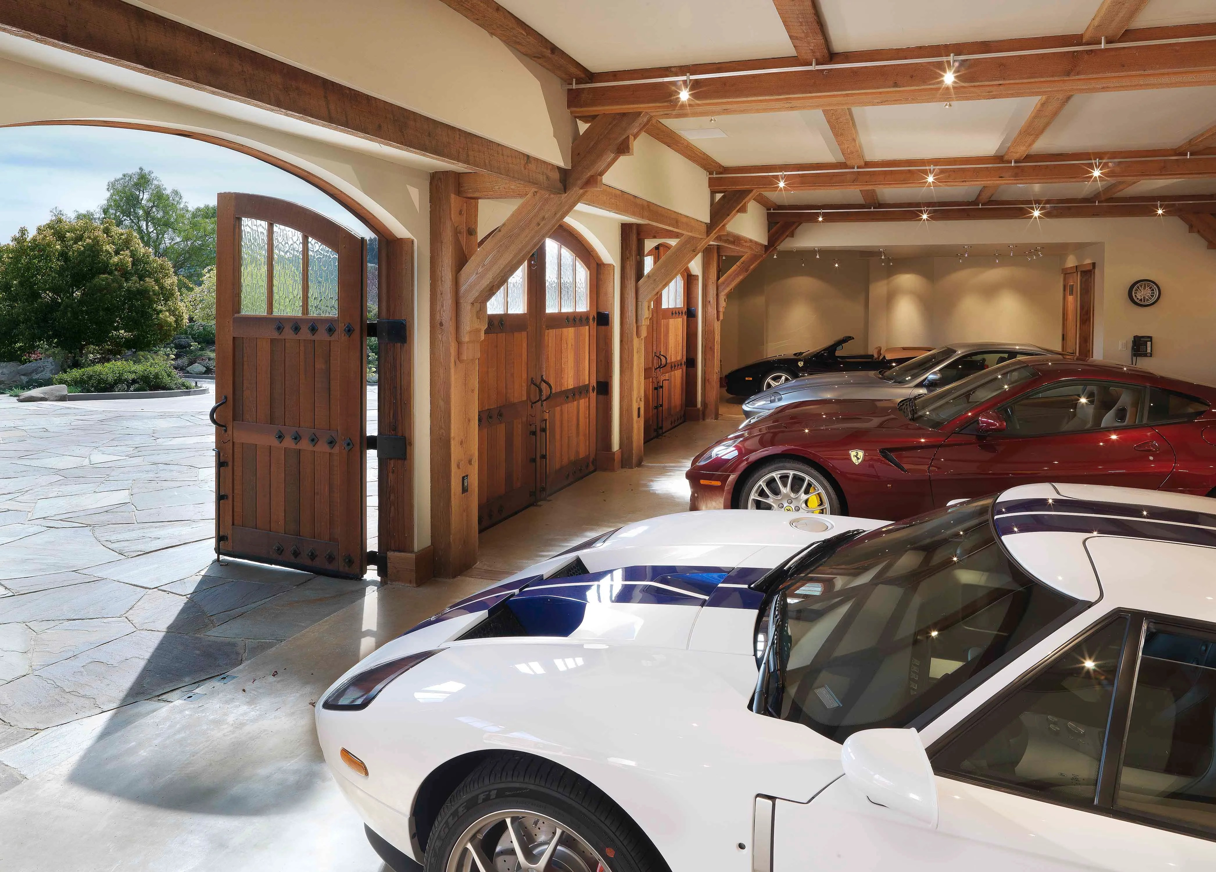 Luxury Toy Boxes Homes Fit For the Auto Connoisseur Photos  Architectural Digest