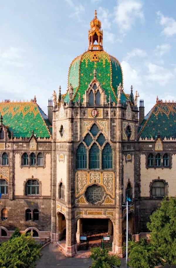 Art Nouveau Budapest Hungary