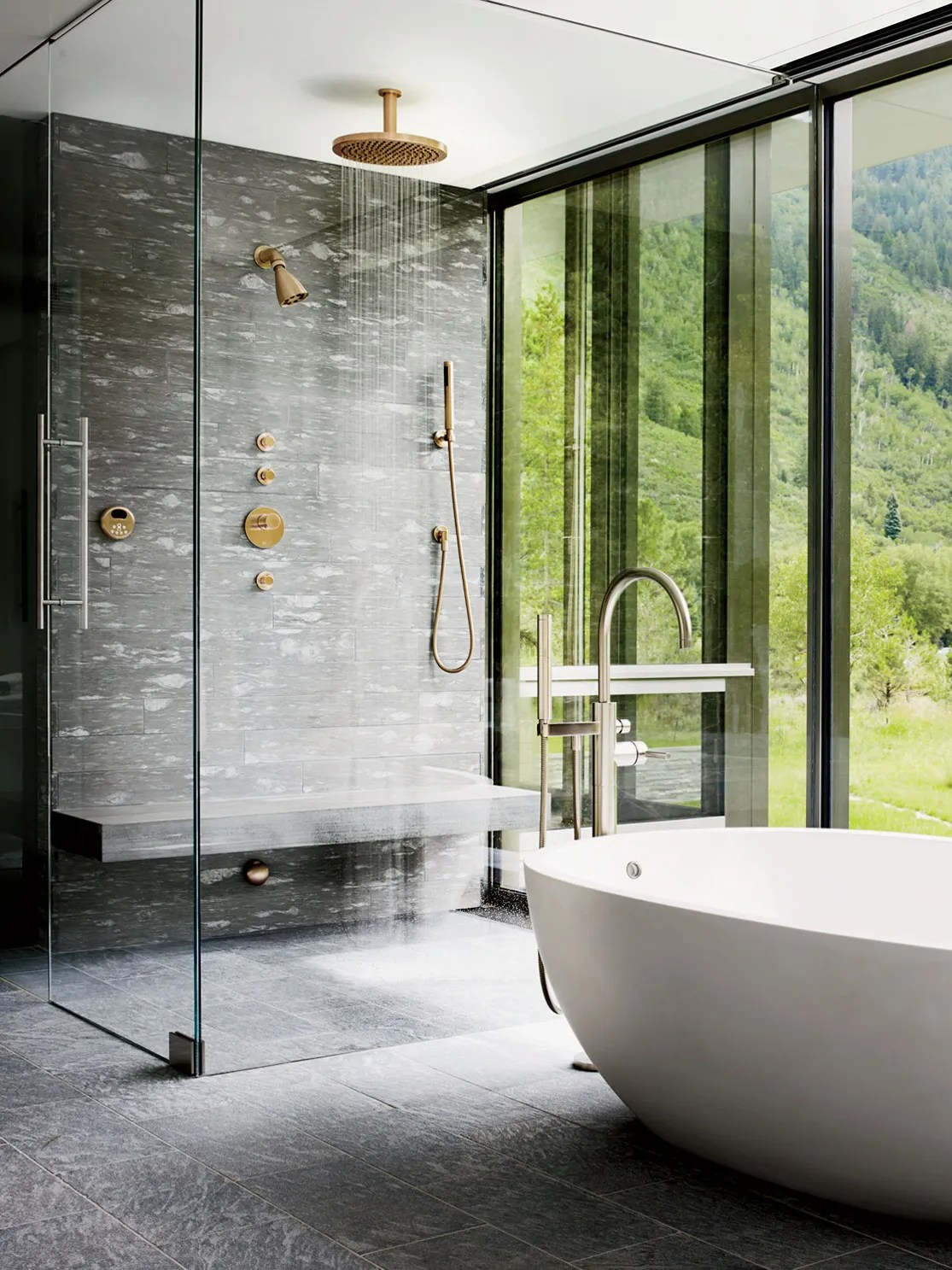 37 stunning showers just as luxurious