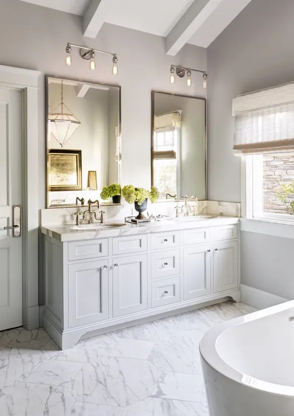 How to Light Your Bathroom 3 Expert Tips on Choosing Fixtures and Mor Photos  Architectural Digest