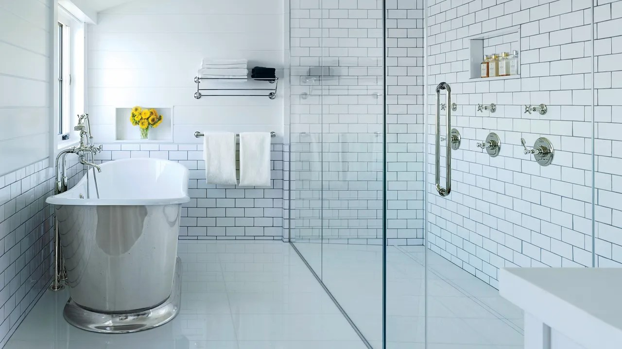 Bathroom Grout How To Choose The Right Grout Color Architectural Digest