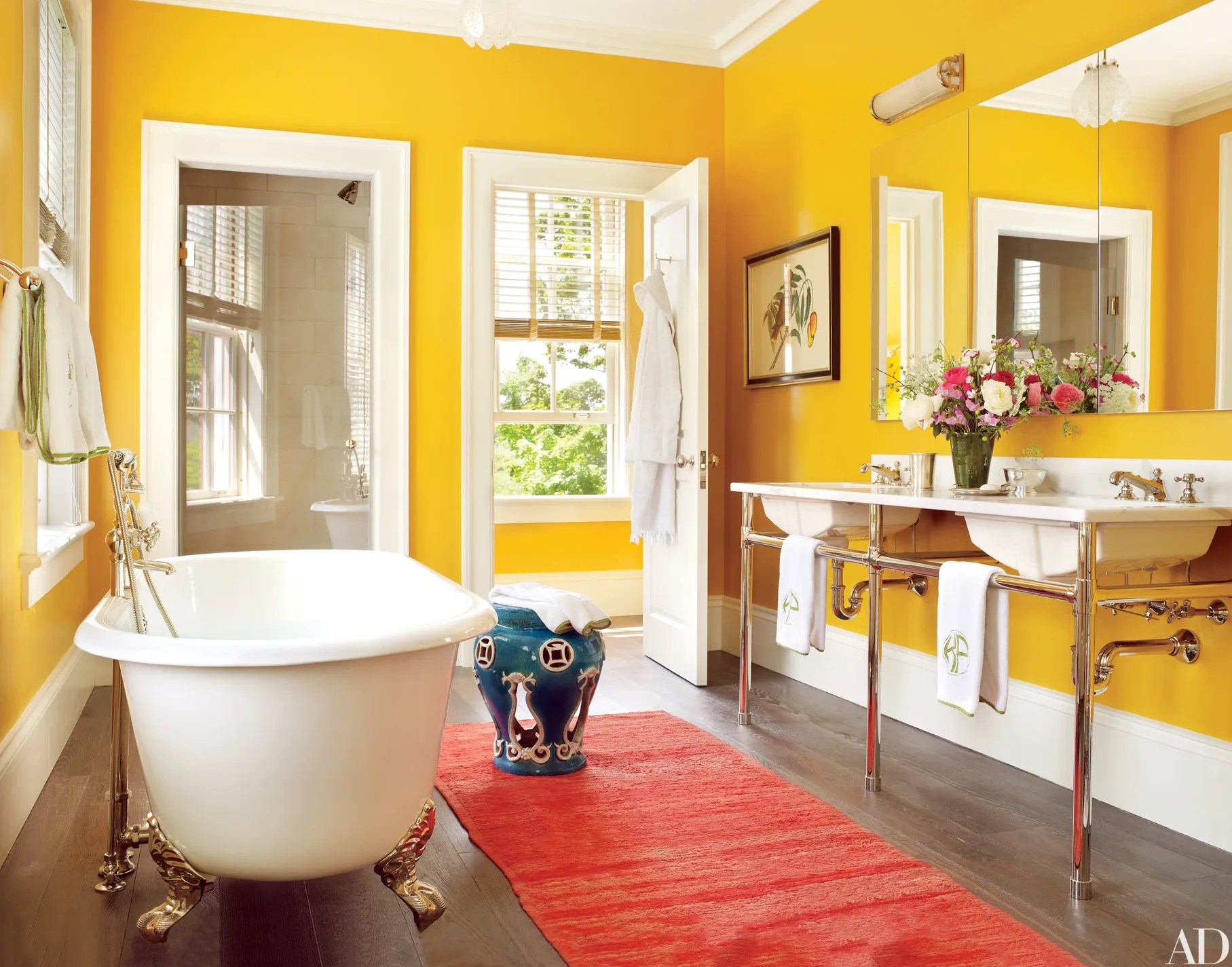 20 colorful bathroom design