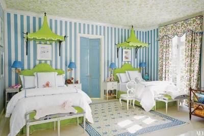 Cute Baby Stylish Wallpaper 54 Stylish Kids Bedroom Amp Nursery Ideas Architectural Digest
