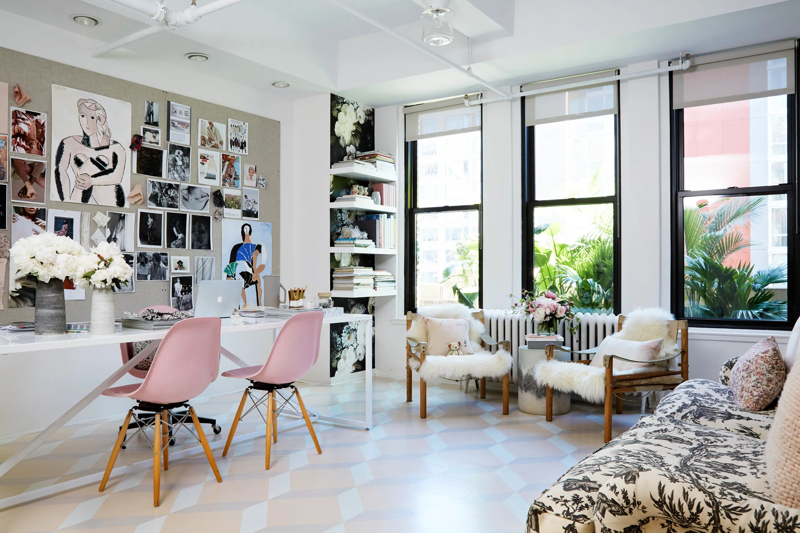 Rebecca Taylors New York Office Decor Makeover Photos