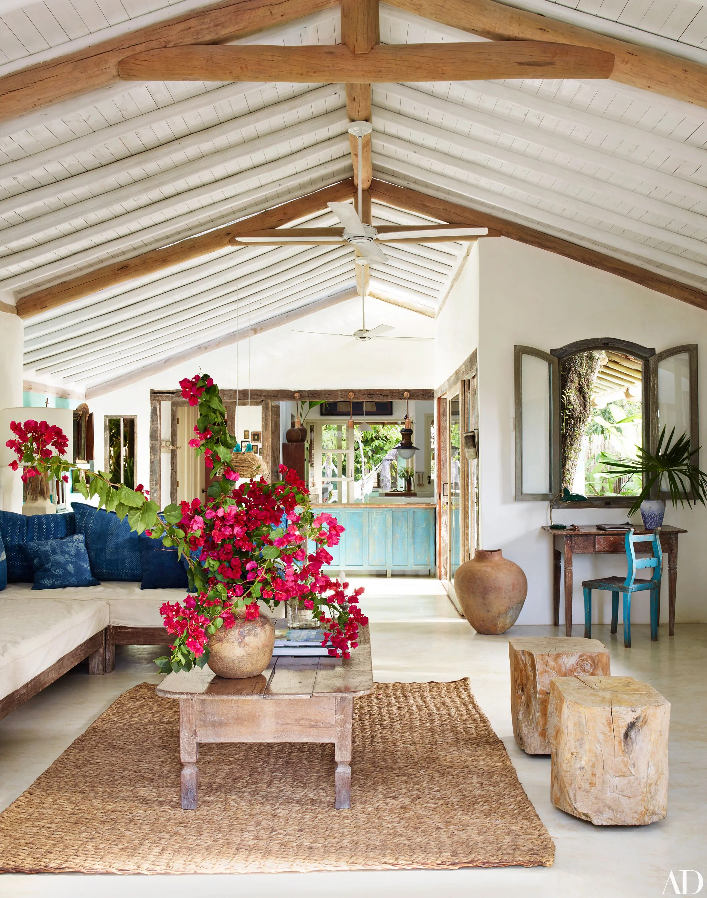 Go Inside Anderson Coopers Trancoso Brazil Vacation