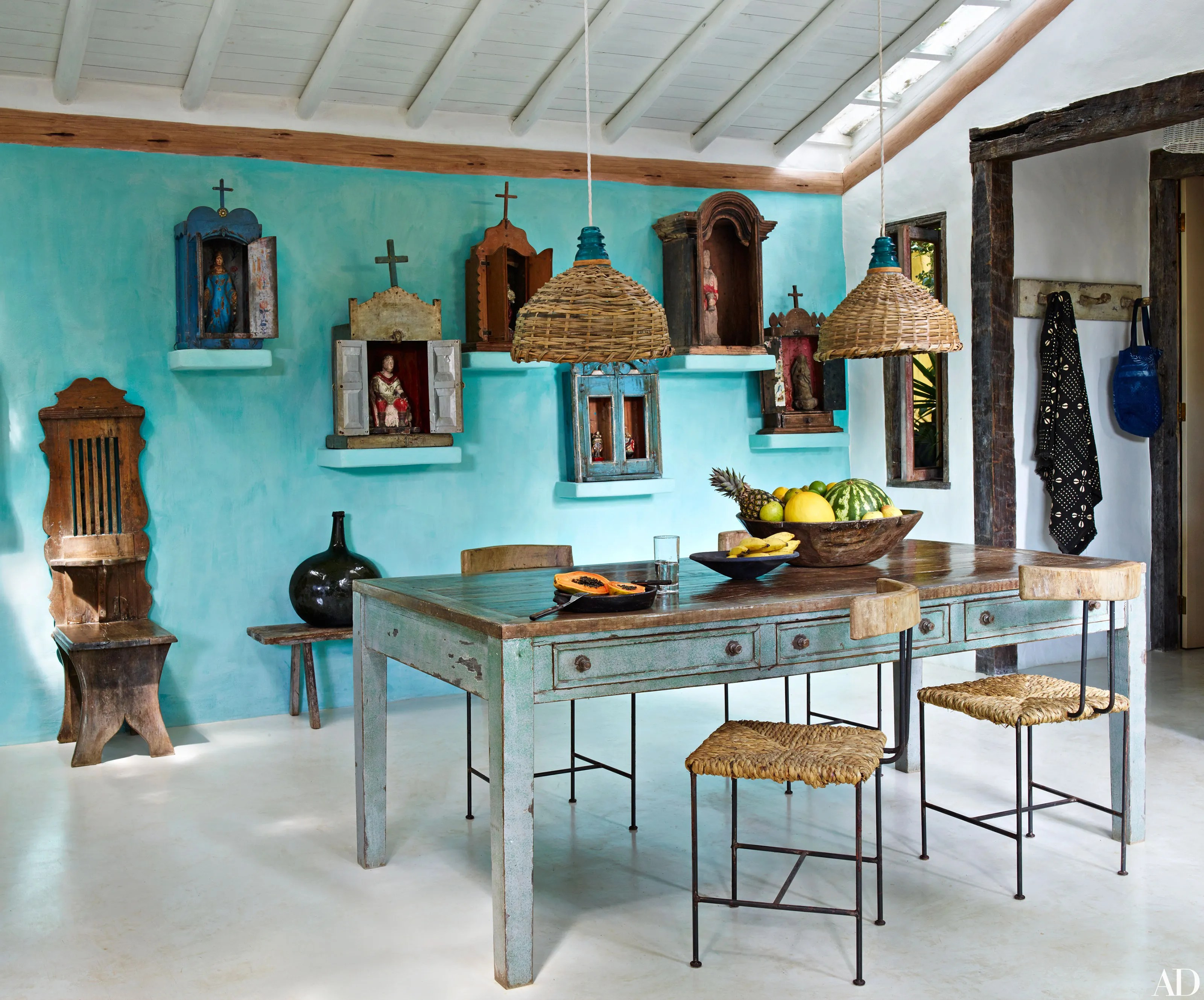 Get the Look of Anderson Coopers Trancoso Getaway Photos  Architectural Digest