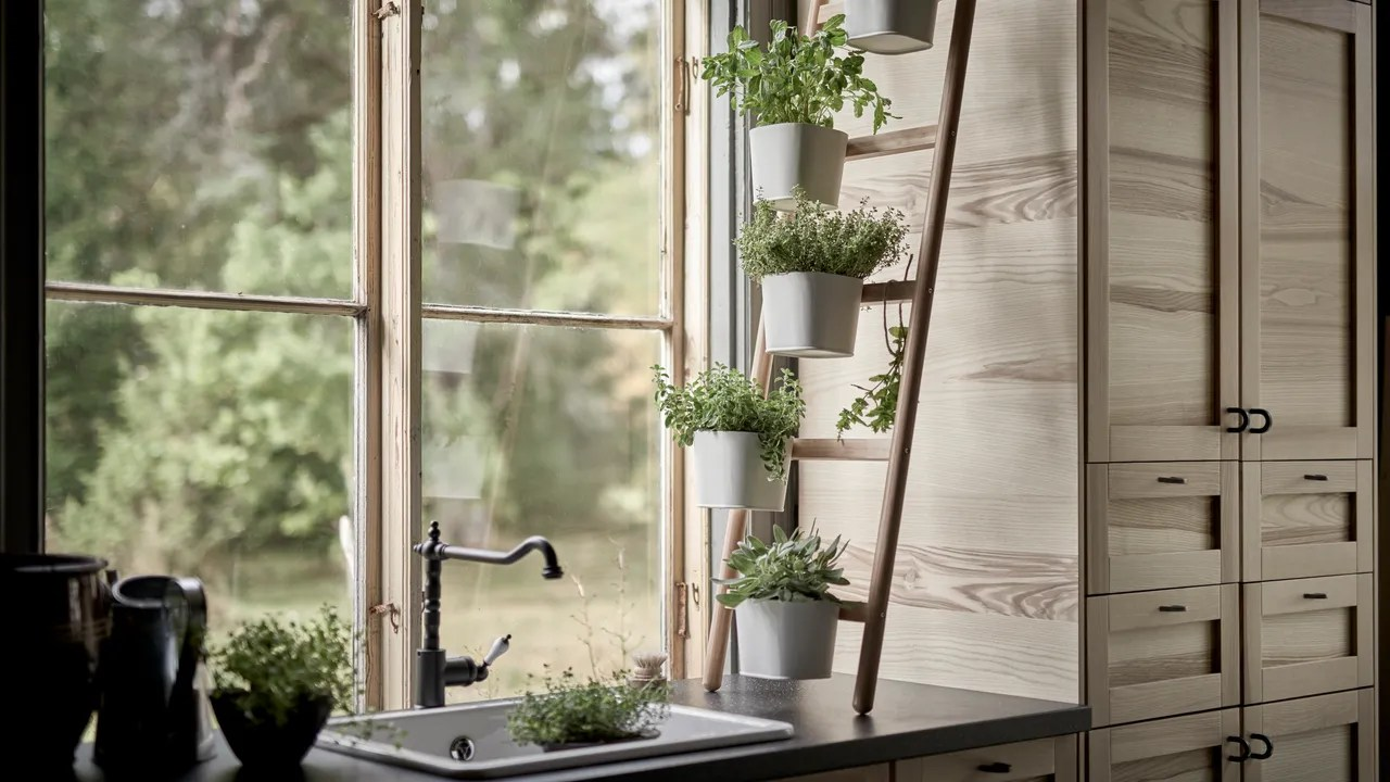 indoor kitchen garden cabinets sizes 5 herb ideas for your architectural digest