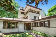 Rare 3-story Frank Lloyd Wright Home In Illinois