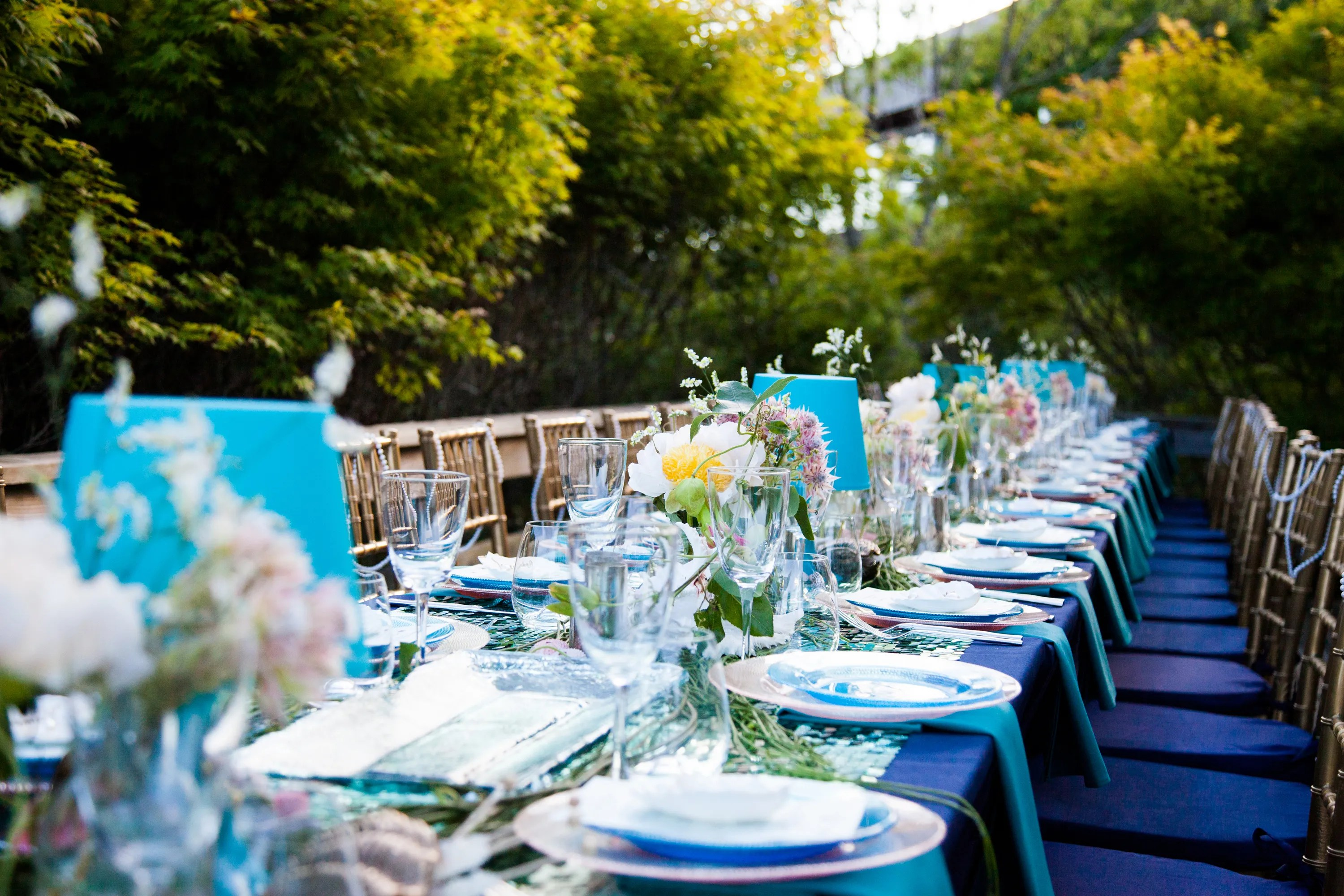 Summer Party Idea A SeaInspired Dinner Celebration Photos  Architectural Digest