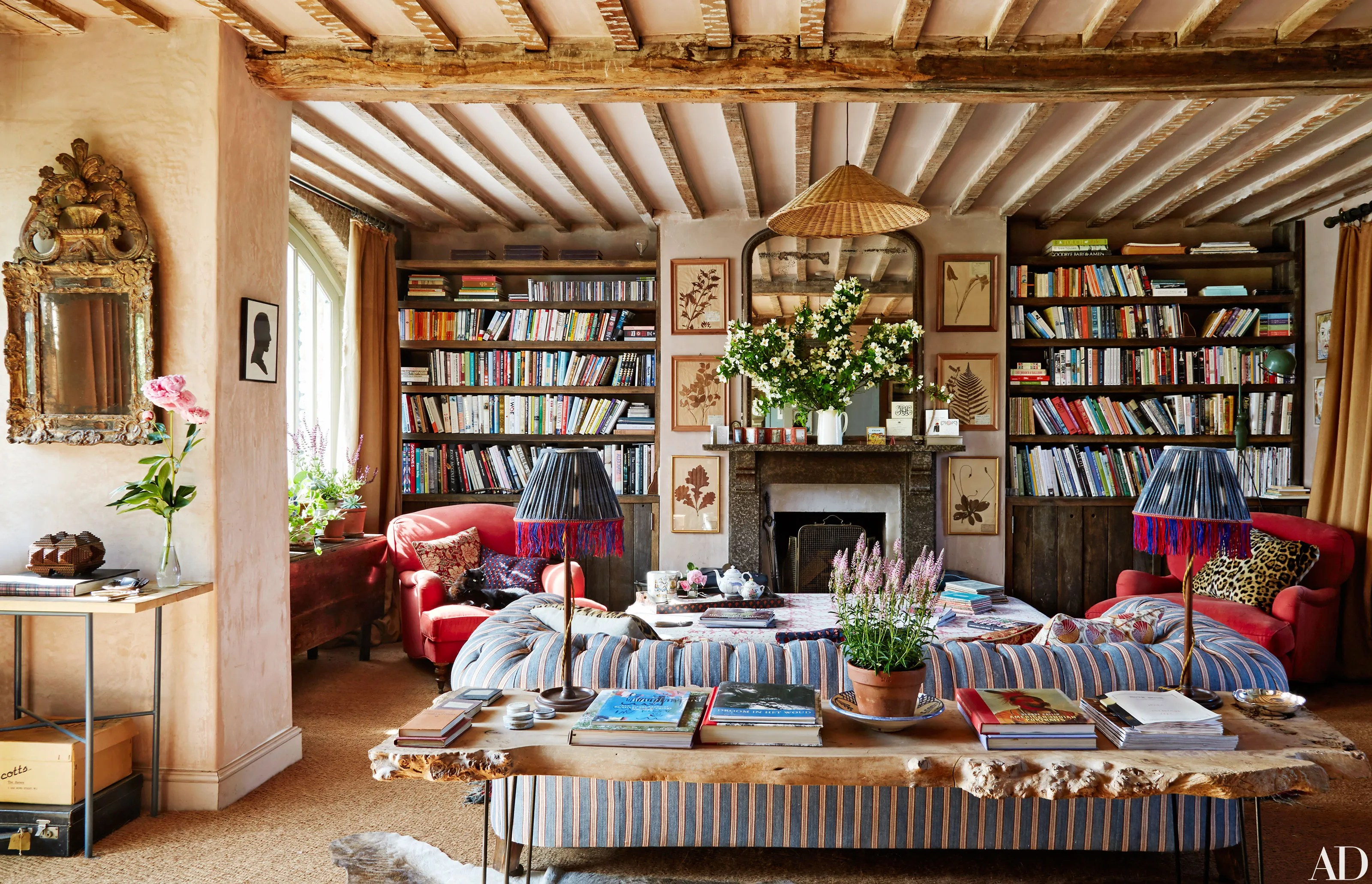 Amanda Brooks Invites Us Inside Her Dreamy English Country Home  Architectural Digest