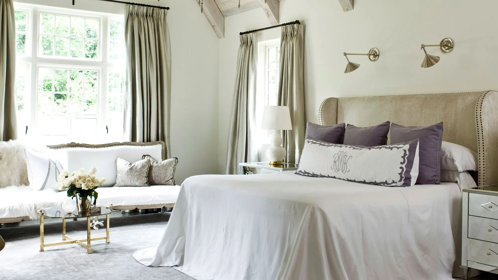 Bedroom Ideas How To Decorate A Large Bedroom Architectural Digest