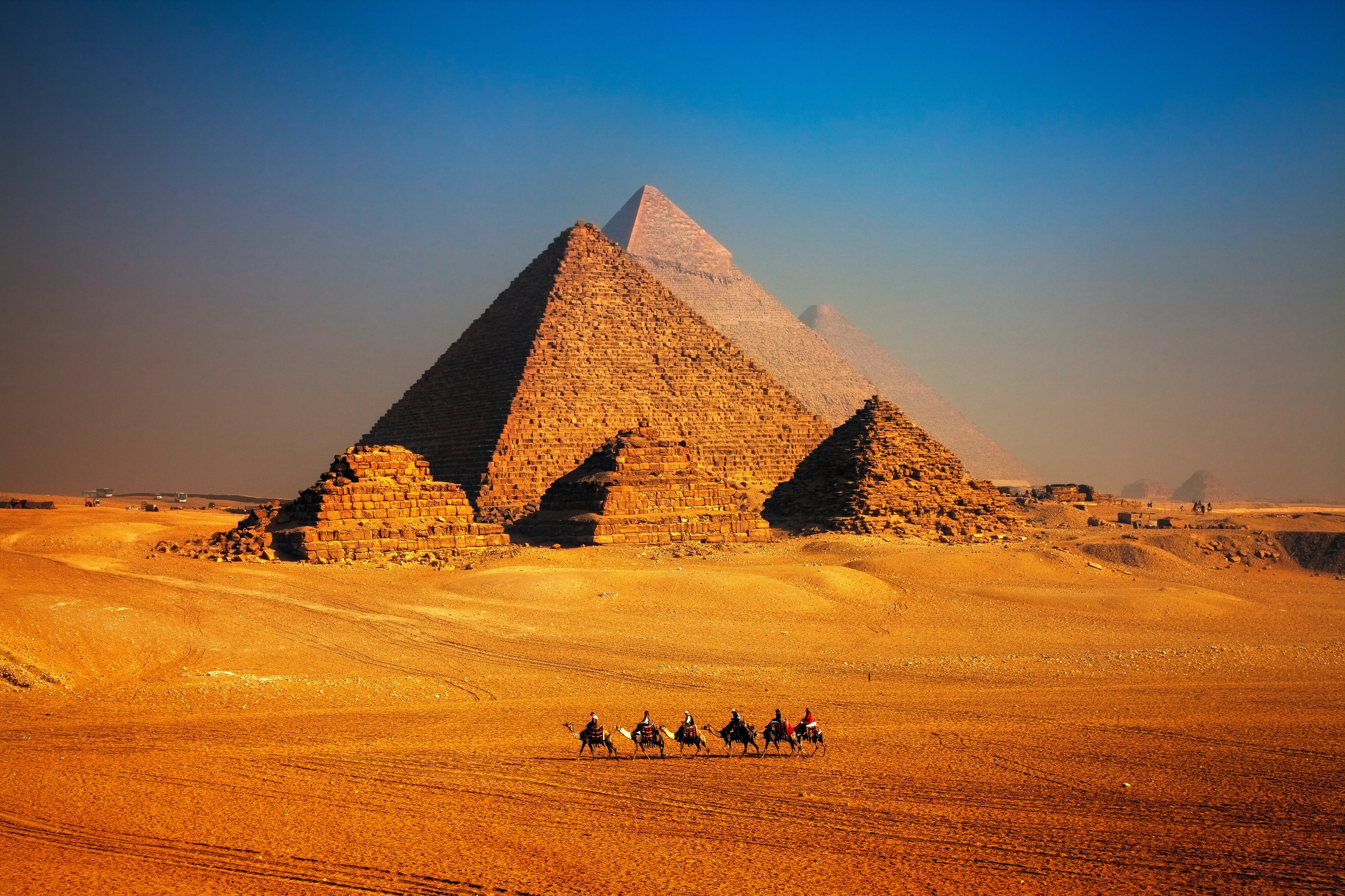 The Egyptian Pyramids Are Getting A 40 Million Makeover