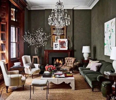 ralph lauren living room furniture 50 small design ideas creating a luxury look 44 of the best rooms 2016 architectural digest subtly textured walls was achieved with paint