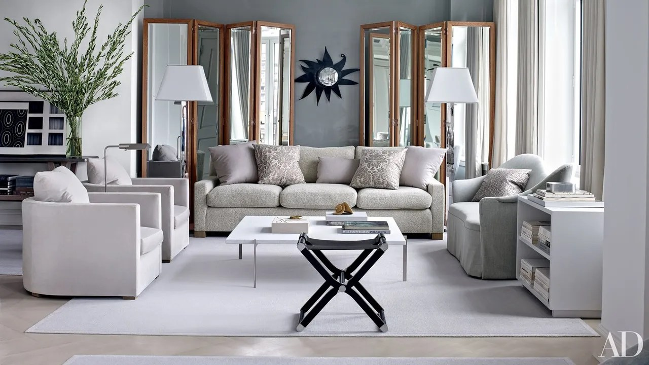 what color should i paint my living room with a tan couch coffee table design ideas not to do when decorating gray architectural digest designed by shelton mindel associates