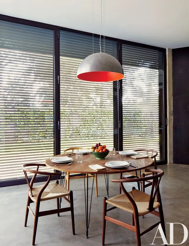 breakfast table and chairs set hanging chair usa 10 midcentury-modern dining rooms photos | architectural digest