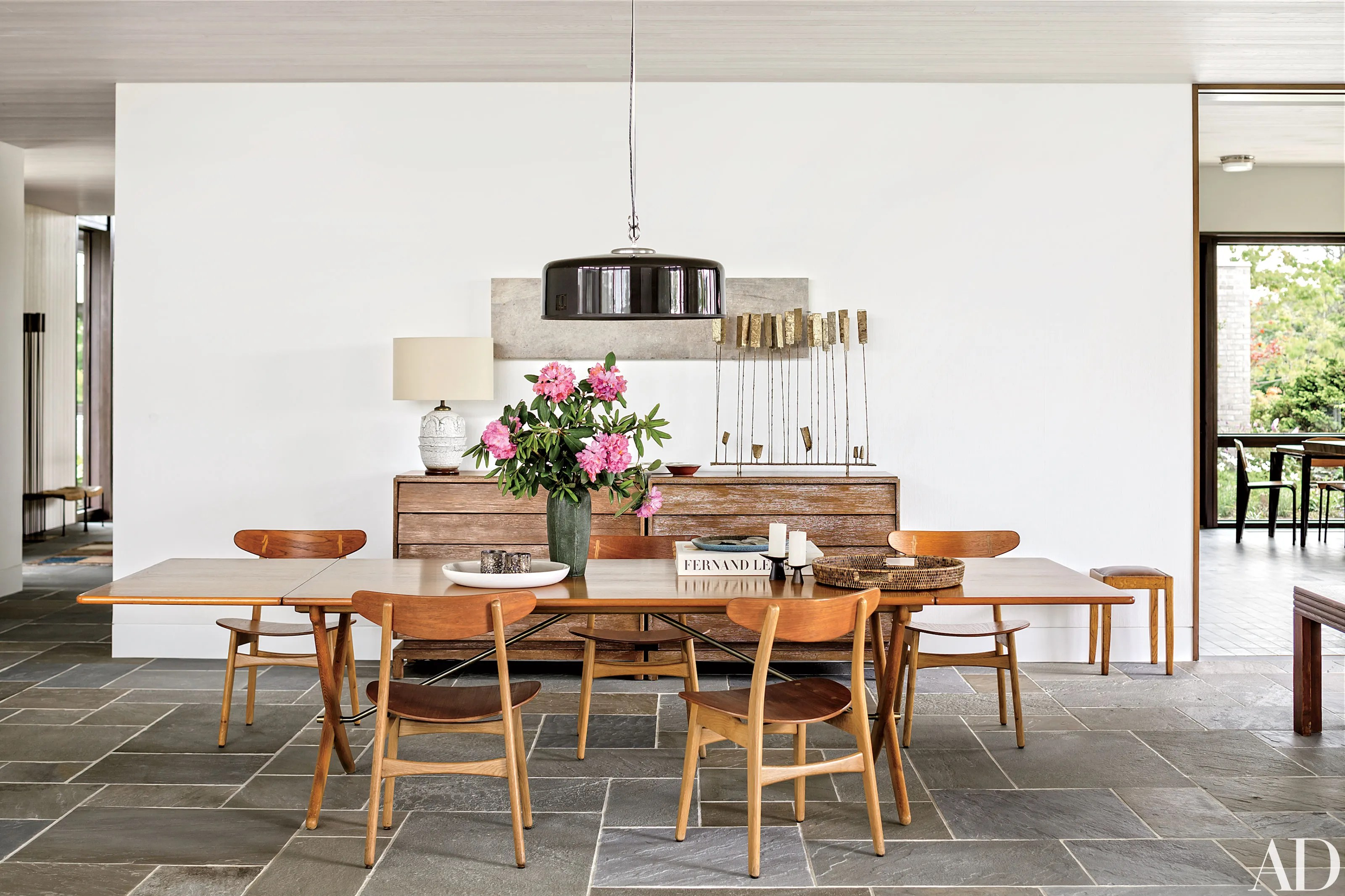 10 Midcentury Modern Dining Rooms Architectural Digest