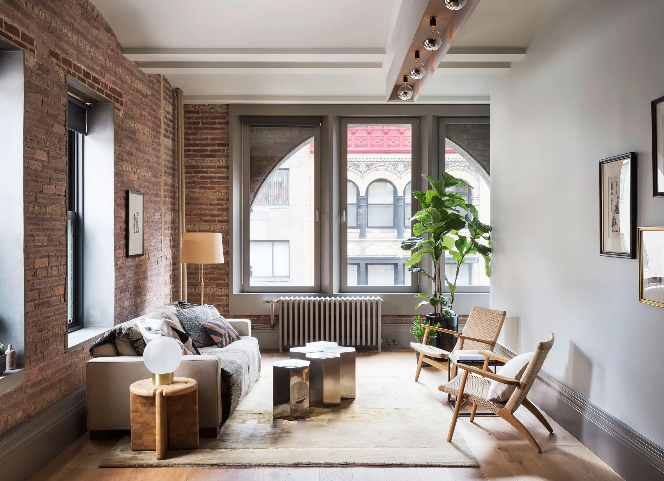 This Petite New York City Loft Packs a Stylish Punch  Architectural Digest
