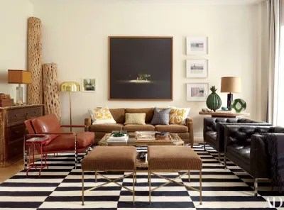 modern living room setup amazing escape 11 midcentury rooms architectural digest in designer nate berkuss manhattan family a large photograph by oswaldo ruiz overlooks vintage